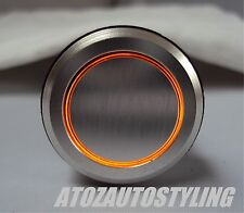 Savage Momentary Push Button PLAIN SWITCH *AMBER LED*   EXCLUSIVE