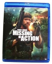 "Chuck Norris in ""MISSING IN ACTION"" Widescreen War/Action BLURAY 2012"