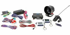 NITRO 2WAY CAR ALARM TWO LCD DISPLAY REMOTE STARTER SYSTEM NEW