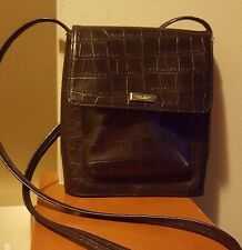 Nine West Women's Cross Body Small Brown Fashion Handbag, Bag, Purse,