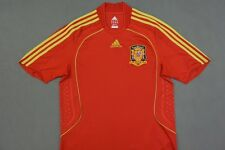 2007-2009 adidas ESPANA Spain Home Shirt EURO 2008 SIZE M (adults)