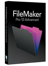 FileMaker Pro 12 avanzada para Windows y Mac-Oficial Versión Completa Original