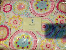 Pottery Barn Kids Aimee Quilt And Standard Pillowcase Twin Colorful New Rare