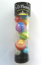 3D GLOW IN THE DARK PLANETS - HANG THEM FROM THE CEILING! - BRAND NEW!