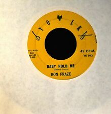 HEAR IT OBSCURE COUNTRY BOPPER Ron Fraze Yolk 103 Baby Hold Me