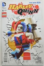 HARLEY QUINN # 12 Comic w/ LEGO Variant Cover ~ DC Comics New 52 Joker Batman
