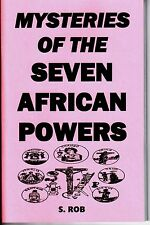 MYSTERIES of the SEVEN AFRICAN POWERS BOOK occult 7 orishas