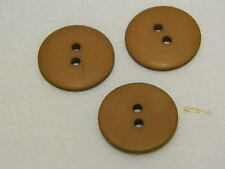 25 NEW 3/4 INCH ANTIQUE GOLD  DULL/MATTE FINISH BUTTONS #261CD29 - 14