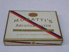 Vecchio pacchetto SIGARETTE MURATTI 'S ARISTON FILTER cigarette vintage VUOTO