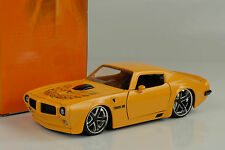 1972 Pontiac Firebird Tuning Custom yellow gelb 1:24 Jada