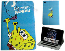 For Apple iPad Mini 1 2 3 Spongebob Squarepants Fun Kids Cartoon Case Cover