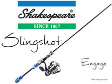 Shakespeare Slingshot Engage Spin Fishing Rod Combo 7' 2pc 6-10kg / 40Z Reel
