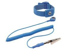 Velleman AS3 ANTI-STATIC ADJUSTABLE ELASTIC WRIST STRAP - BLUE