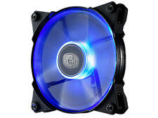 CoolerMaster JetFlo Jet Flo 120mm 12cm Blue LED PWM Case Fan - 95 CFM Cooling