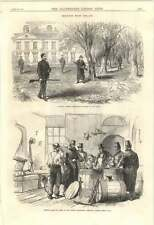 1870 Searching Barrels Dublin Steamship Company Stores Meath Country Gentleman