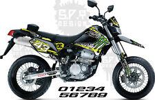 Kawasaki KLX250S & KLX250SF 09-13 Decals Sticker Graphics, Monster 10  (Effex)