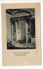 MARTHA'S VINEYARD Massachusetts PC Postcard MARTHAS Edgartown 1945 EMILY POST