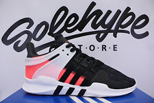 ADIDAS EQUIPMENT EQT SUPPORT 91 / 16 ADV 3 CORE BLACK TURBO PINK BB1302 SZ 9.5