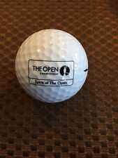 LOGO GOLF BALL-THE OPEN CHAMPIONSHIP-SPIRIT OF THE OPEN..GLENMORANGIE WHISKY!!