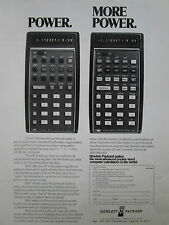 1/1974 PUB HP HEWLETT PACKARD HP-45 HP-35 SCIENTIFIC CALCULATOR CALCULATRICE AD