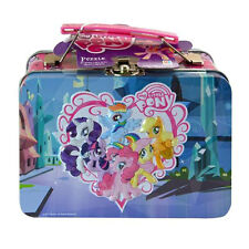 MY LITTLE PONY Friendship Is Magic COLLECTOR TIN LUNCH BOX CASE + 48pc PUZZLE