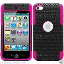 Hybrid Rugged Net Mesh Hard Silicone Case For Apple iPhone iPod Galaxy S4 S3 S2