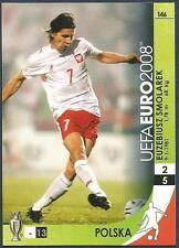 PANINI UEFA EURO 2008 TRADING CARD- #146-POLSKA-POLAND-EUZEBIUSZ SMOLAREK