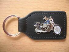 Schlüsselanhänger Harley Davidson Wide Glide Modell 2012 blau Art 1171 Llavero