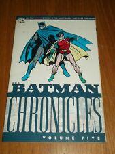 Batman Chronicles Volume 5 by Bill Finger (Paperback, 2008)  9781401216825