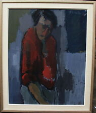 Stig Lindh-Ryberg 1920-1947, Figur in Rot, um 1940/47