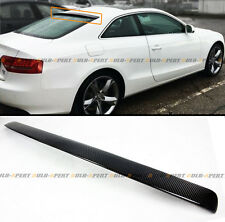 FOR 2009-16 AUDI S5 2 DOOR COUPE VIP CARBON FIBER REAR ROOF WINDOW SPOILER WING