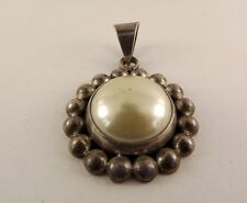 Sterling Silver Jewelry Mabe Pearl Pendant Fashionable
