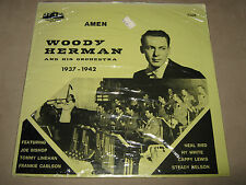 WOODY HERMAN and his Orchestra 1937-1942 LP Bandstand 7108 AMEN Reissue SEALED