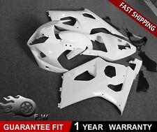 Bodywork Fairing Kit Unpainted Molded White ABS for SUZUKI GSXR 1000 2003 2004