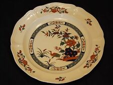 """Wedgwood Etruria & Barlaston Chinese Teal Dinner Plate Made in England 10 3/8"""""""