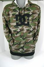 """New Mens Large DC Shoes """"YC All Camm ZH-M"""" Camo Jacket Hoody $65"""