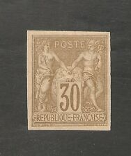 French Colonies #26 VF MINT - 1878 30c Peace & Commerce - SCV $52.50