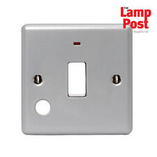 BG MC531 - Metal Clad 20A Double Pole Switch With Neon - Metalclad & Back Box