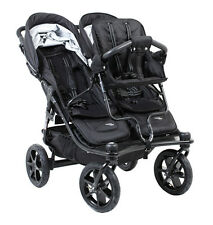 Valco 2016 TriMode Twin-X Duo Double Stroller in Midnight With Toddler Seat!!!