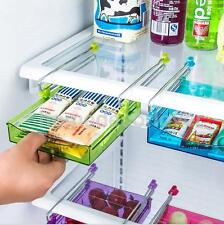 Smart Slide Fridge Freezer Shelf Rack Holder Space Saver Suction Cup Green