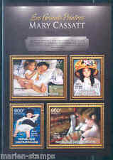 CENTRAL AFRICA 2012 MARY CASSATT  SHEET MINT NH