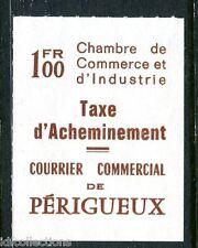 Fin de catalogue timbre de grève Périgueux N° 33 référencé Maury