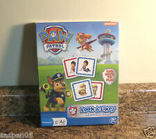 Nickelodeon Paw Patrol Look A Likes Matching Game New Sealed