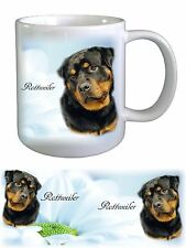 Rottweiler Dog Rottie Ceramic Mug by paws2print