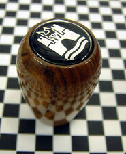 VW Wolfsburg Wooden Gearknob - Beetle Camper Type 1 2 Splitty Combi