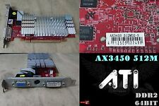 PowerColor Radeon HD 3450 512 MB DDR2, AX3450 512MD2-S, DVI-I, VGA, S-Video