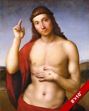 JESUS CHRIST PEACE TO YOU PAX VOBISCUM PAINTING CHRISTIAN BIBLE ART CANVAS PRINT