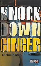 KNOCK DOWN GINGER NEW PAPERBACK BOOK