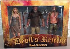 The Devils Rejects Bloody Showdown action figure set 3 pack new Neca sealed box