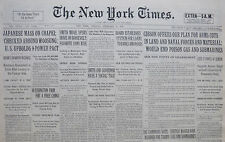 2-1932 February 9 JAPAN MASS ON CHAPEI WOOSUNG. GIBSON OFFERS PLAN FOR ARMS CUTS